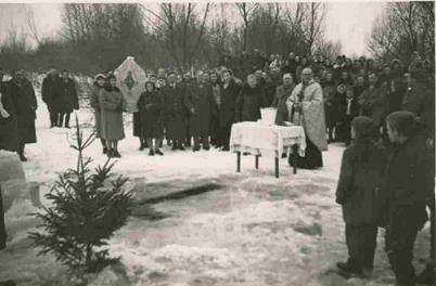 Uroczystość Chrztu Pańskiego - poświęcenie wody nad Bugiem przez ks. Pryłuckiego
